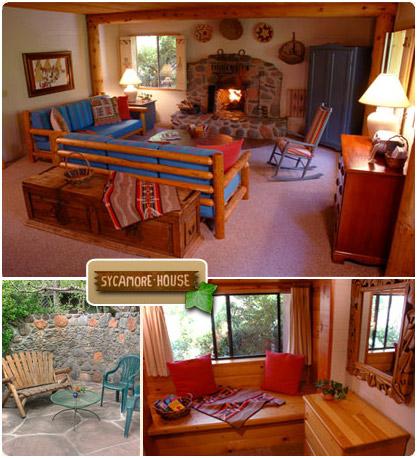 The Sycamore U2013 Briar Patch Inn U2013 Sedona Arizona U2013 Cozy Cabins In Oak Creek  Canyon