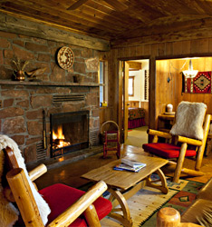 Heron - Briar Patch Inn - Sedona Arizona - Cozy Cabins in Oak Creek Canyon