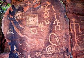Petroglyphs - Briar Patch Inn - Sedona Arizona - Cozy Cabins in Oak Creek Canyon