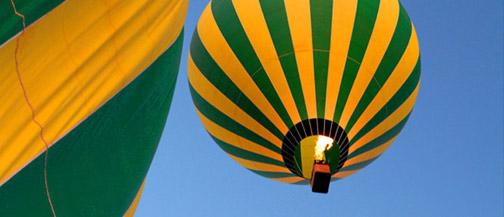 Sedona Balloon Tours - Briar Patch Inn - Sedona Arizona - Cozy Cabins in Oak Creek Canyon