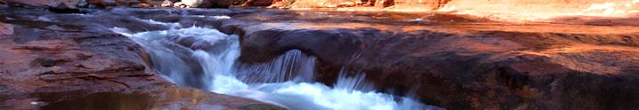 Slide Rock - Briar Patch Inn - Sedona Arizona - Cozy Cabins in Oak Creek Canyon