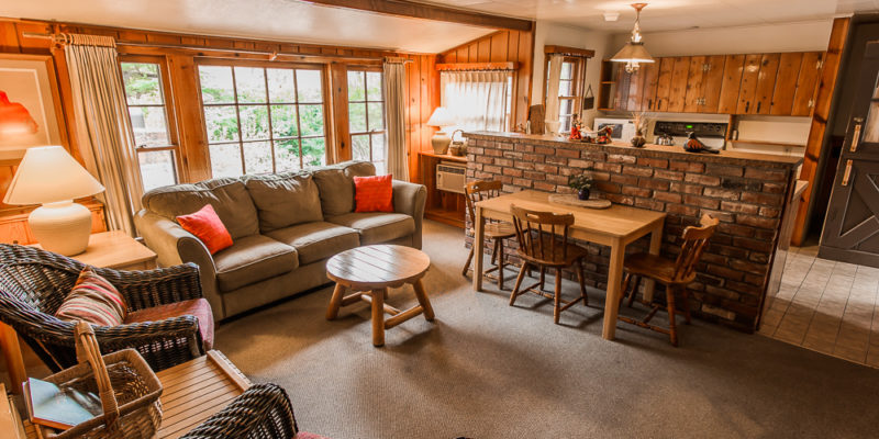Sedona cabin at the briar patch inn the treetop views for Cabins in oak creek canyon