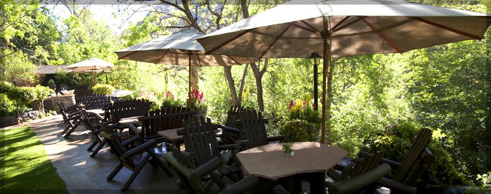 Sedona breakfast by the creek briar patch inn sedona arizona.