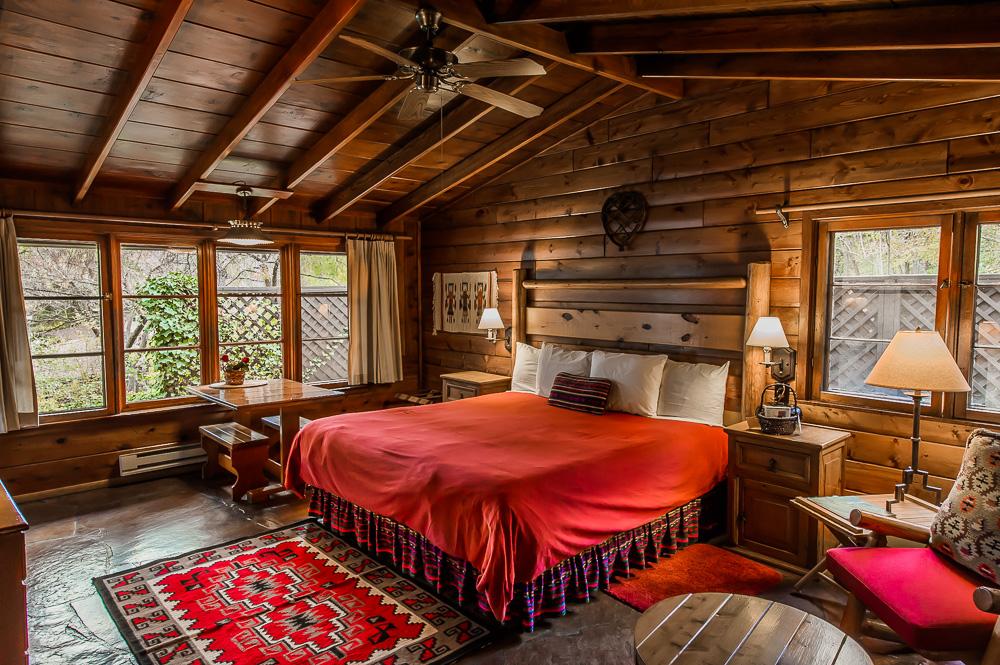 Sedona Cabin U2013 Briar Patch Inn U2013 Sedona Arizona U2013 Cozy Cabins In Oak Creek  Canyon