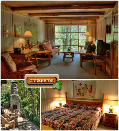 The Creekside   Briar Patch Inn   Sedona Arizona   Cozy Cabins In Oak Creek  Canyon