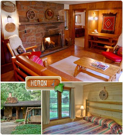 The Heron U2013 Briar Patch Inn U2013 Sedona Arizona U2013 Cozy Cabins In Oak Creek  Canyon
